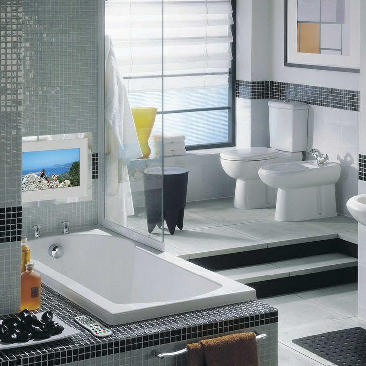 Die besten 25+ Waterproof tv Ideen auf Pinterest Balkon Tv - tv im badezimmer