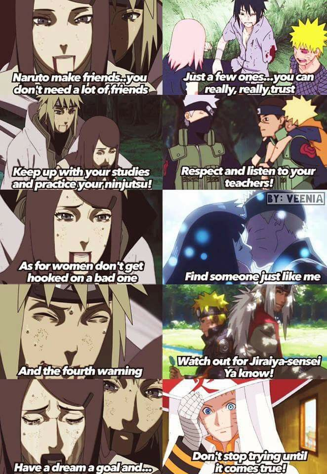 Naruto has acomplished most of what Kushina told him to ♥♥♥ I'm sad and happy at the same time :(