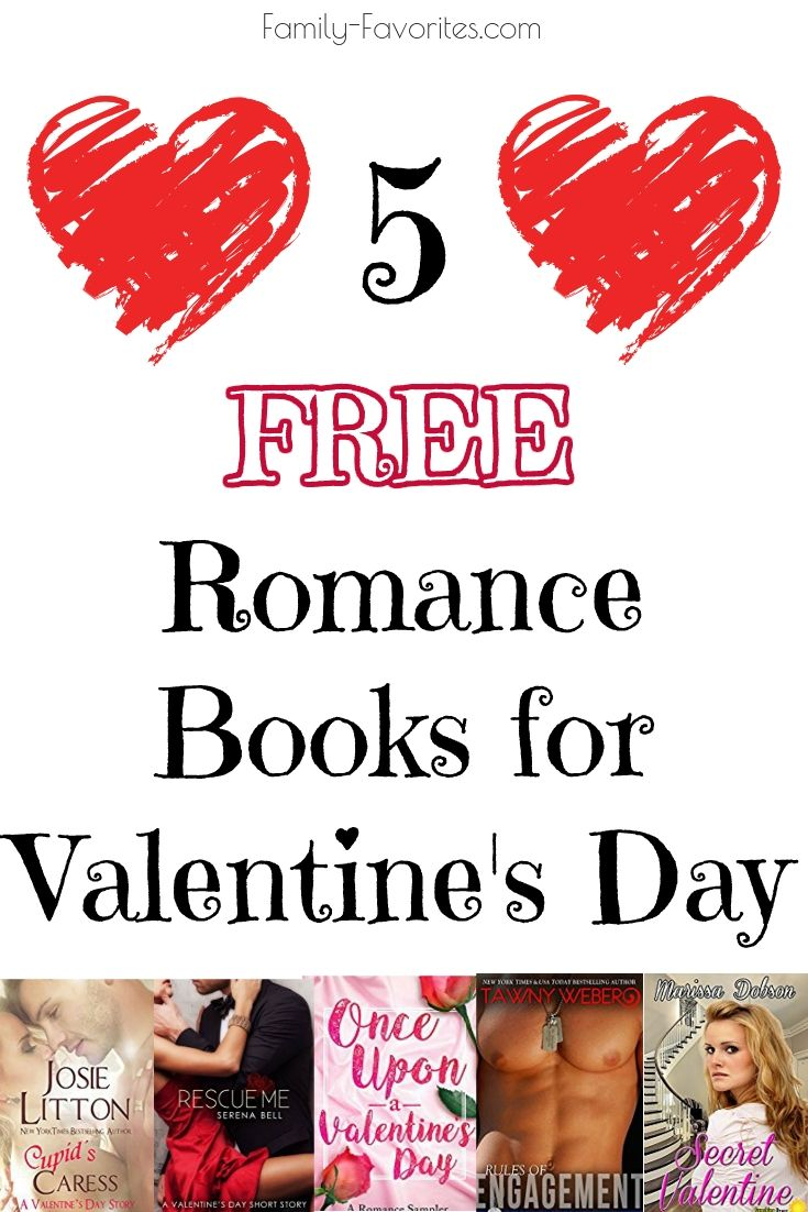 5 Free Romance Books For Valentine's Day