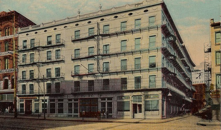 Albany, NY....Keeler's Hotel...circa 1910 Albany, Hotel