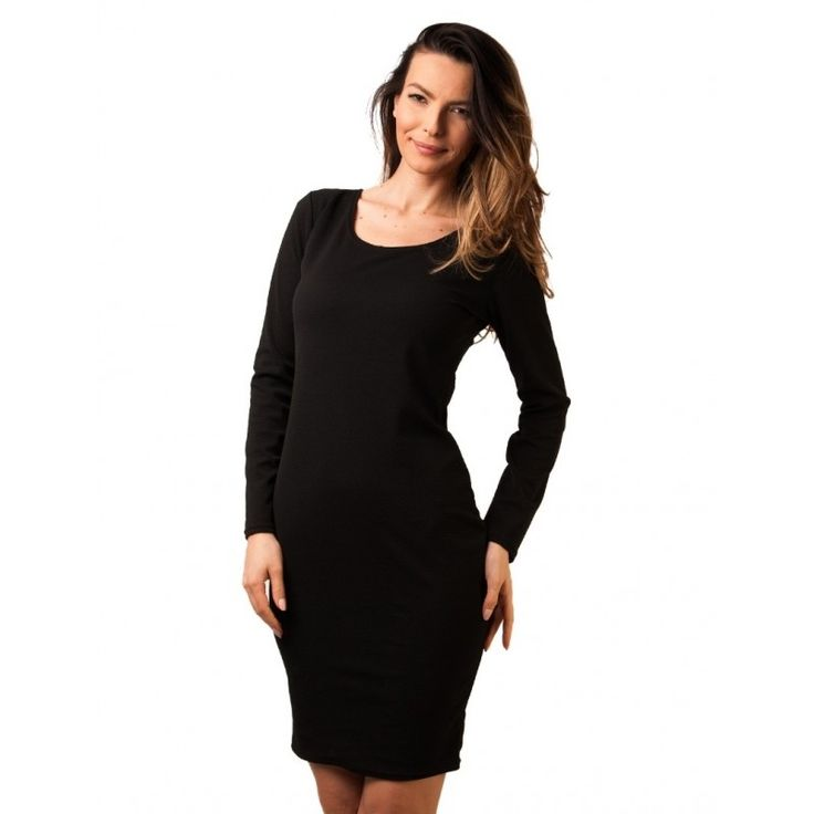"""Rochie """"Over And Done"""" Black"""
