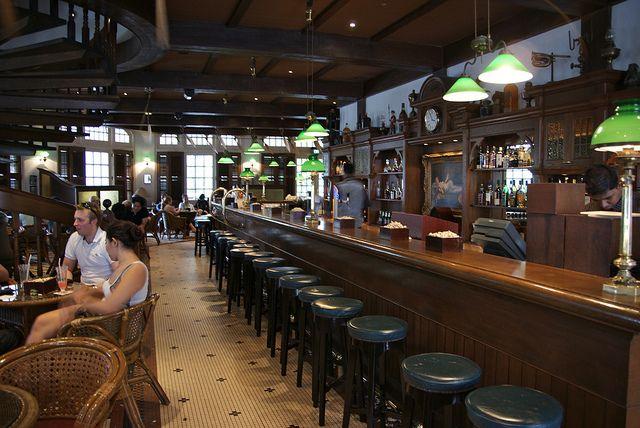 The Famous Long Bar, Raffles Hotel, Singapore