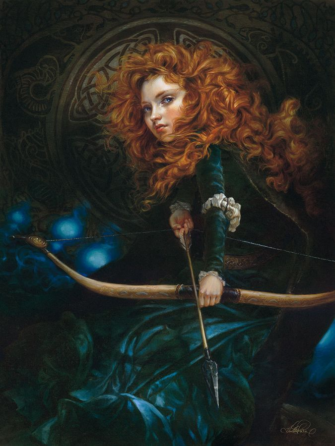 "Bric a brac, tinkeperi: Disney Fine Art: ""Her father's... #ContesDefaits #Willow"