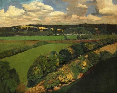 Stanley Spencer - Cookham 1914