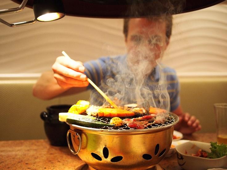 Korean BBQ.