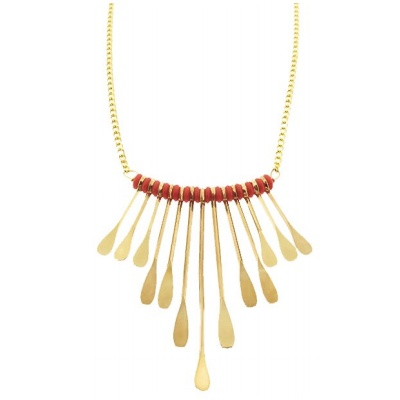 Coral + goldSmall Phoenix, Bling, Jewellery Ideas, Style, Jewelry Inspiration, Ethnic Inspiration Elegant, Phoenix Triangles, Hammer Wire, Colors Combi