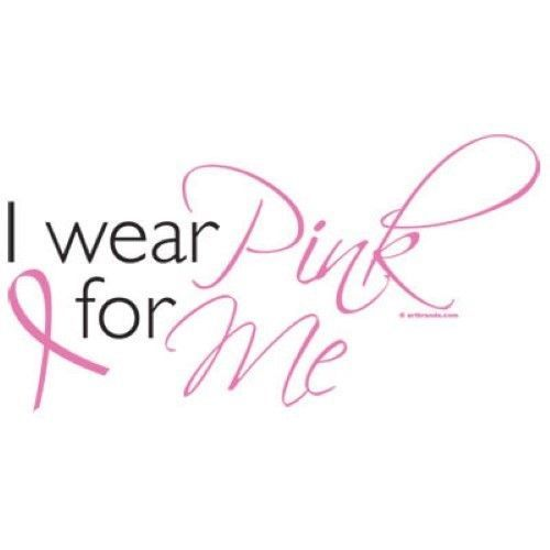 I Wear Pink for Me Breast Cancer Awareness Tshirt Ta Tas Boobies Pink Ribbon #Unbranded #GraphicTee