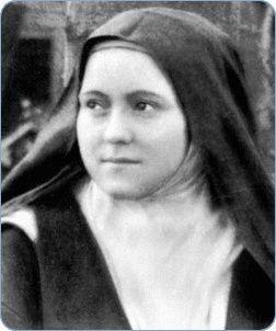 Vie, texte, poésie, vidéo, prière et neuvaine de Sainte Thérèse de l'Enfant-Jésus et de la Sainte Face :