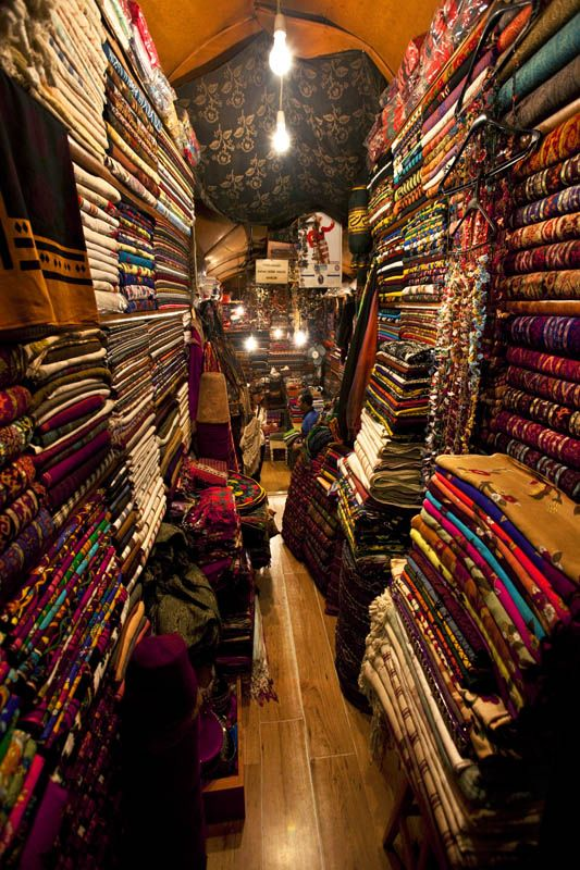 SHOPS OF THE GRAND BAZAAR - Istanbul, Istanbul