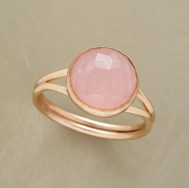 want: Rose Quartz, Soft Pink, Pearls Rings, Pale Pink, Robert Redford, Gold Rings, Promi Rings, Pink Rings, Promise Rings