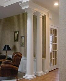 41 best columns images on pinterest home ideas - Interior columns design ideas ...