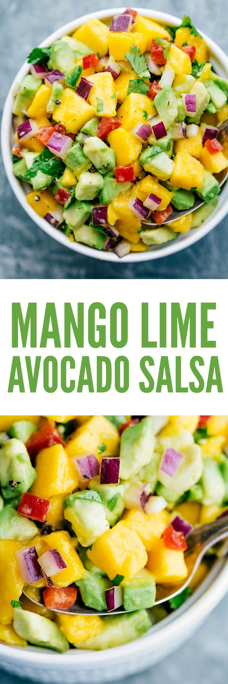 Delicious, fresh, and easy to make mango-lime salsa