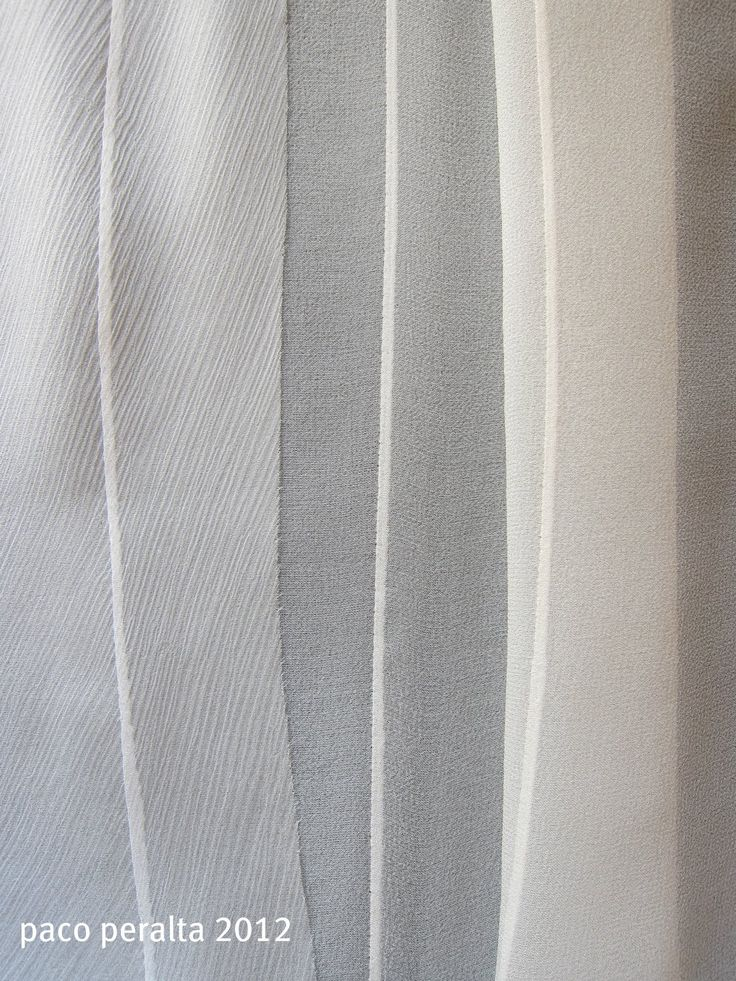 transparent Fabrics (Sewing Tutorial) .- How to professionally finish transparent fabrics