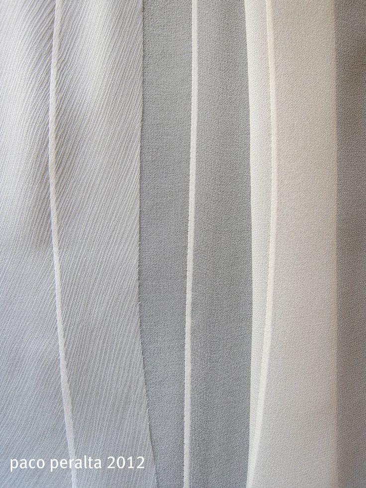 transparent Fabrics (Sewing Tutorial) .- How to professionally finish transparent fabrics