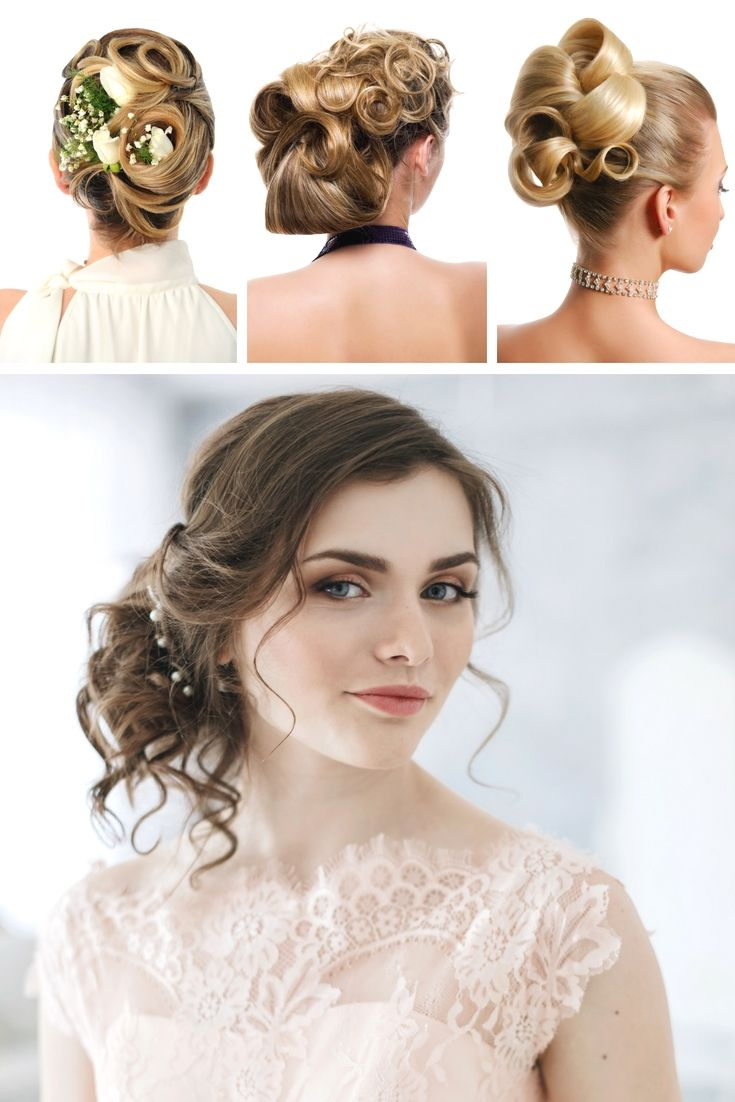 beautiful wedding hairstyle collection. still trying to find