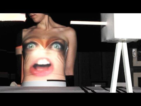 Pharrell Mashup (Happy Get Lucky) - Pomplamoose - Wow, projection mapping on small foamcore models, and boobs!