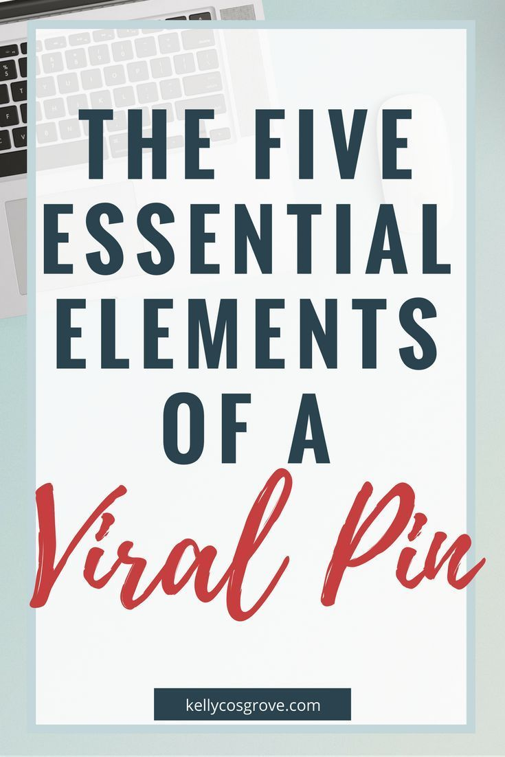 Pinterest is a visual search engine, emphasis on the visual. Which means that just like Instagram, the graphics you use on Pinterest are super important! But if you're not a designer or you're just getting started on the platform, it can be hard to know what to include.