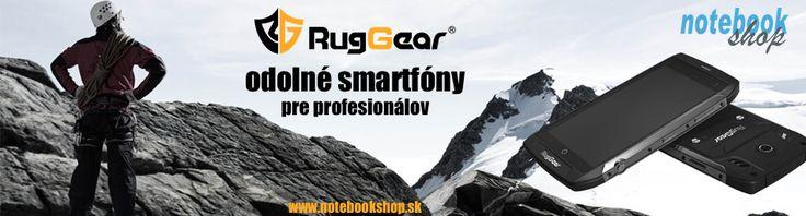 Odolné smartfóny RugGear