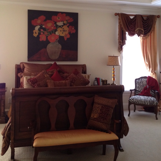 My style at home! Master bedroom-