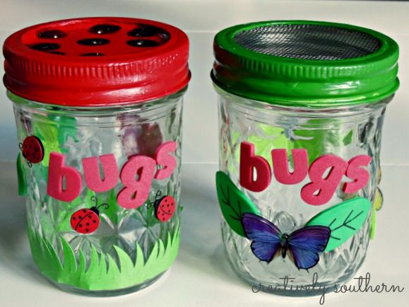 DIY Lightning Bug Jar Craft