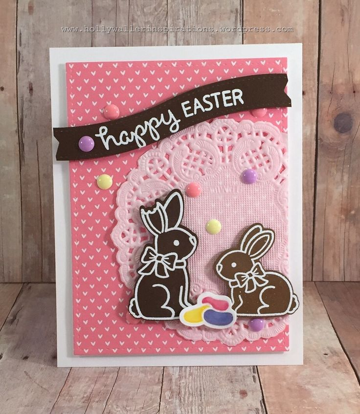 Hello everyone! I am glad to see you back here again for a new card share.  This week I am making three cards with mostly the same products.  They will all be using the Eggstra Special Easter stamp...