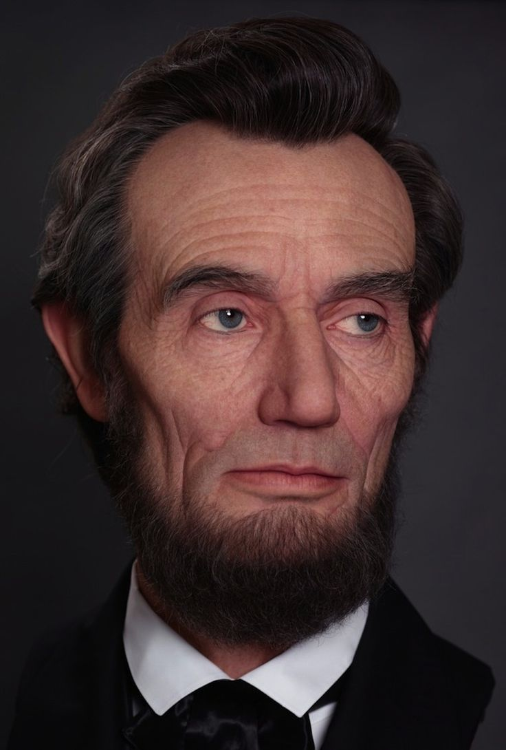 As fans of abraham lincoln we were blown away by this incredibly awesome and astonishingly realistic bust of honest abe created by visual artist and