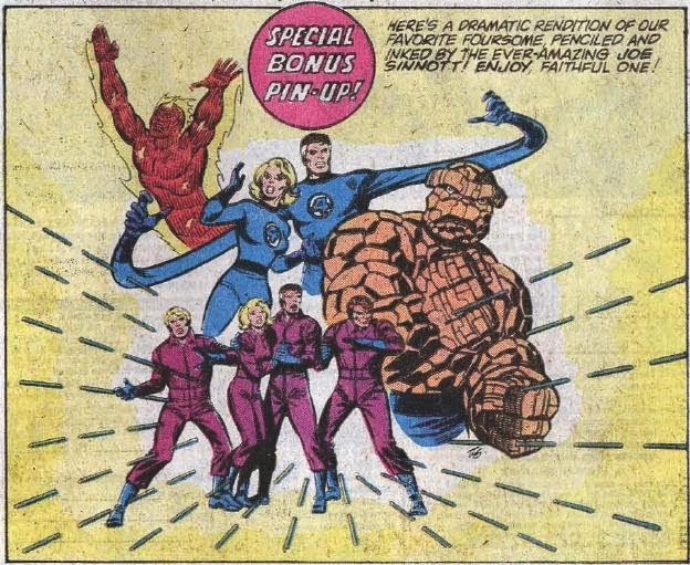 Fantastic Four Pin-Up