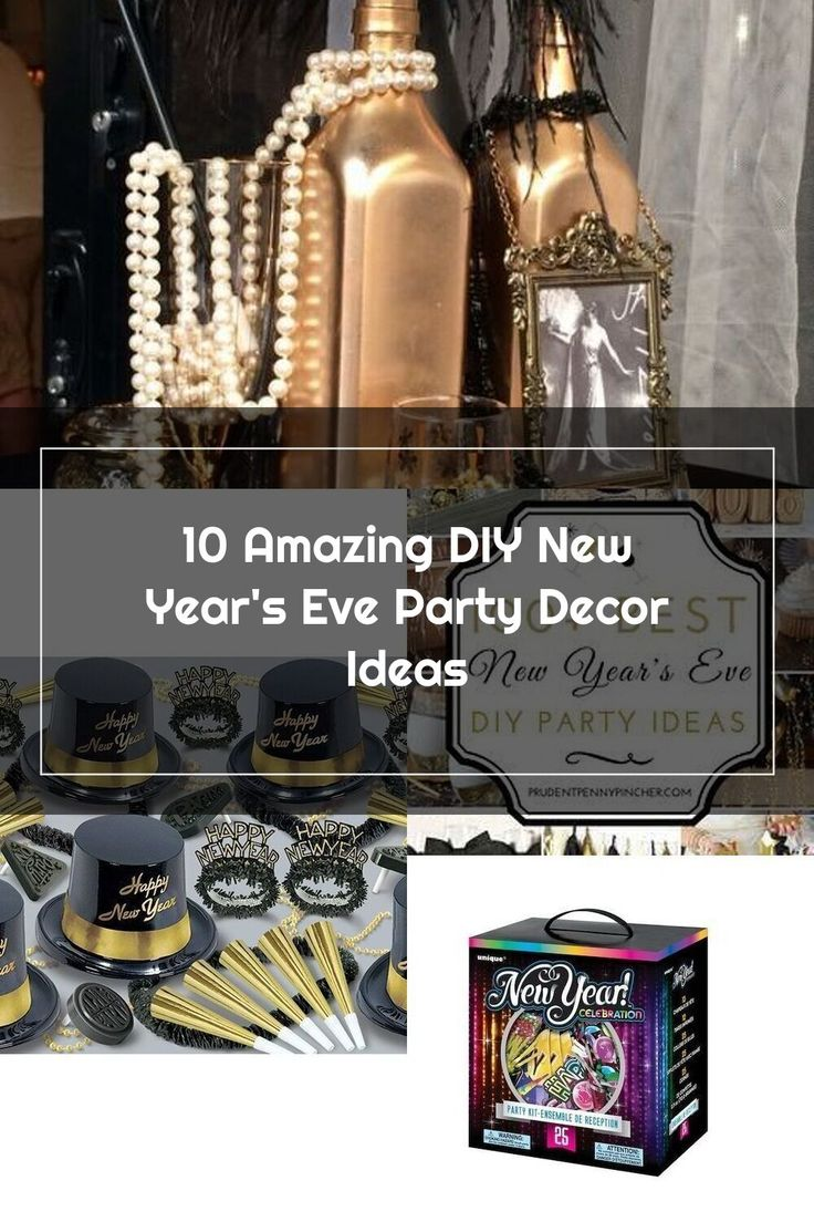 10 Amazing DIY New Year's Eve Party Decor Ideas in 2020