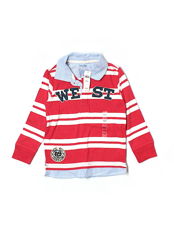 Check it out - Baby Gap Outlet Long Sleeve Polo for $17.99 on thredUP! #thredup #trendyeveryseason