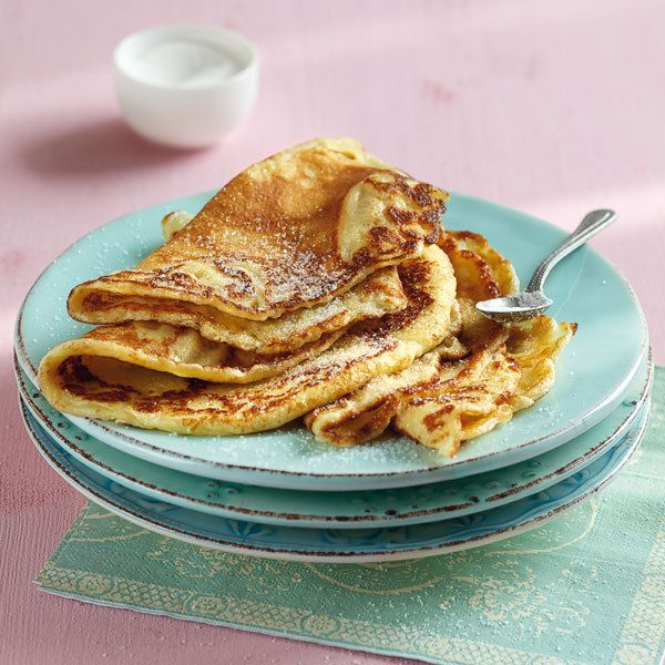 Grundrezept süße Pfannkuchen