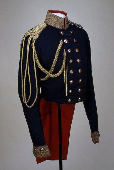 Prussian General uniform tunic, circa 1811.