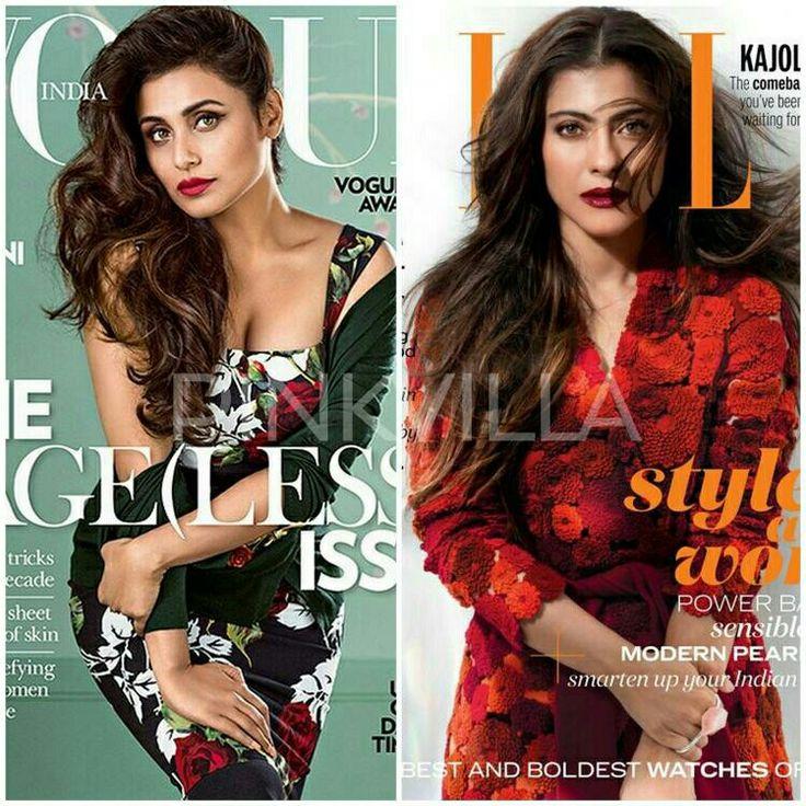 Cover War : Rani Mukerji on Vogue or Kajol on Elle? http://www.pinkvilla.com/cover-war-rani-mukerji-vogue-or-kajol-elle