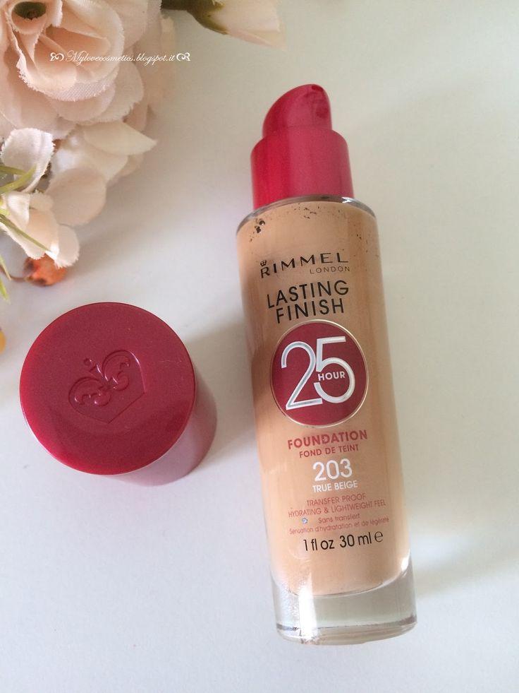 Mylovecosmetics: Rimmel Lasting Finish 25H per una pelle perfetta anche d'estate