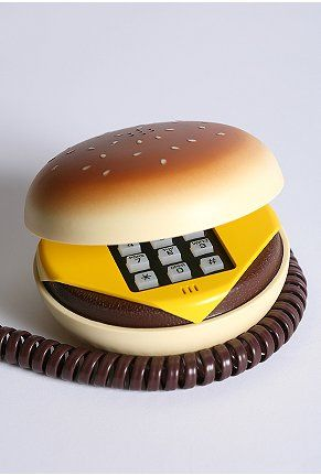 burger phone. burger phone. burger phone.: Cheeseburgers Phones, Hamburg Phones, Stuff, The Call, Random, Juno, 80S Hamburg, Telephone, Products
