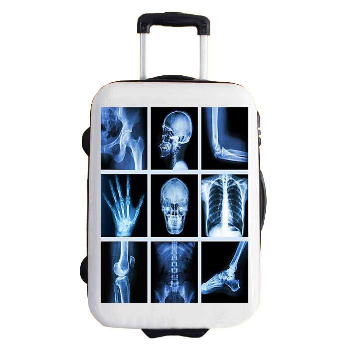 sticker for travel bags, model RADIOGRAPHY