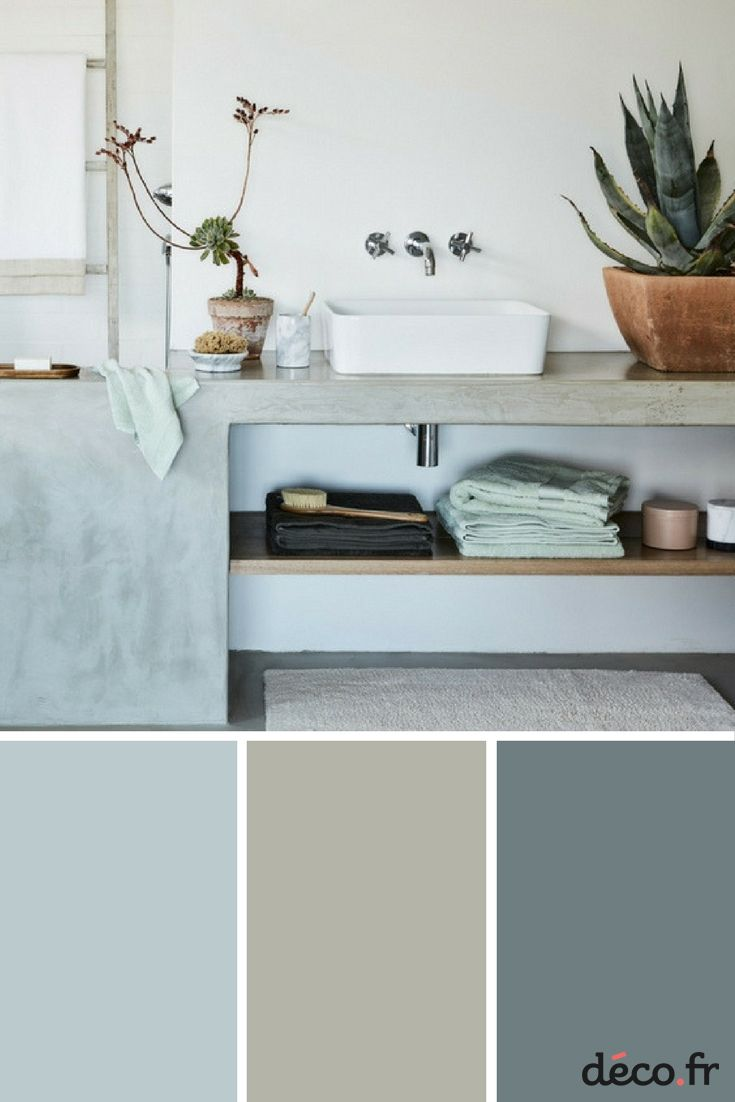 15 best nuancier de couleur images on pinterest ideas for Couleur salle de bain tendance