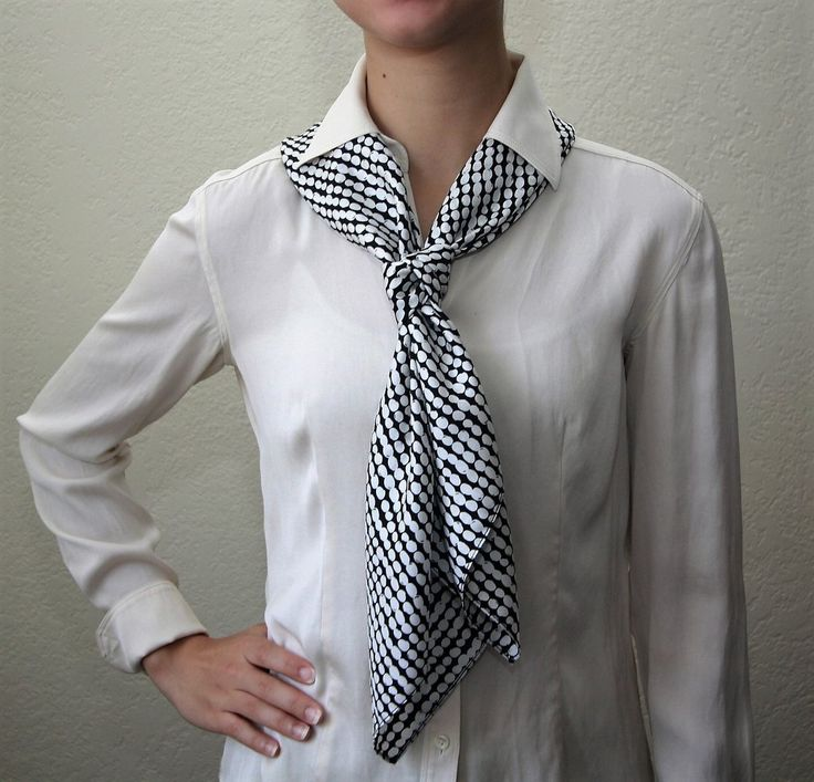 Chic and Modern Silk Scarf