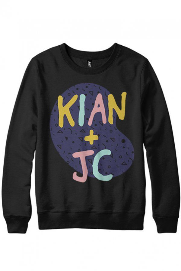 K+J 90s Sweater - Kian and Jc - Official Online Store on District LinesDistrict Lines size small