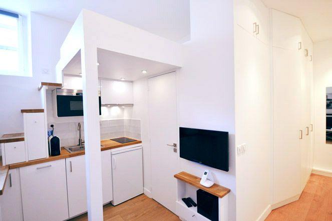 Studio 15 m2 hyper-optimisé pour 4 personnes en location saisonnière