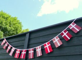 Ikke at der er nogen som har fødselsdag herhjemme eller der er nogen særlig lejlighed til at flage. Bortset fra at jegefteret års tilløb ...