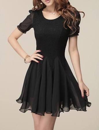 black short dresses for juniors - Google Search