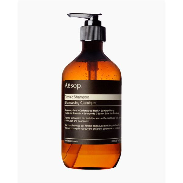 Aesop Classic Shampoo (64 CAD) ❤ liked on Polyvore featuring beauty products, haircare, hair shampoo and aesop