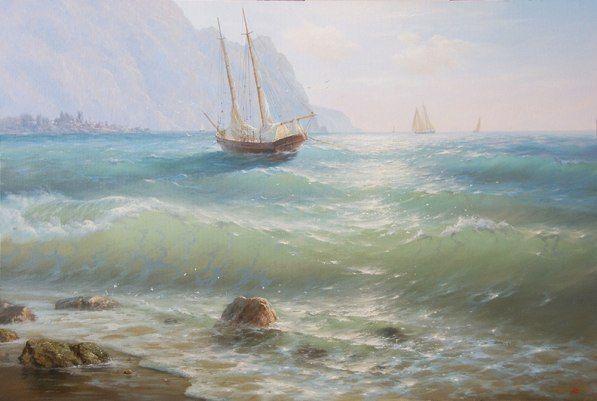 Морские пейзажи Валерия Артамонова