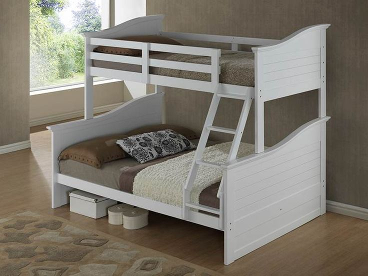 New Childrens Double And Single Bunk Bed Bedroom Furniture Wave