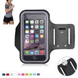 Tsmine iPhone 5 5S Sports Gym Armband - Universal Water Resistant Running Jogging Fitness MobilePhone Pouch Armband Case for Apple iPhone 5 5S, Size S, Black - http://trolleytrends.com/health-fitness/tsmine-iphone-5-5s-sports-gym-armband-universal-water-resistant-running-jogging-fitness-mobilephone-pouch-armband-case-for-apple-iphone-5-5s-size-s-black