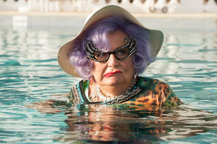 Absolutely Fabulous: The Movie Cameos:  Dame Edna Everage