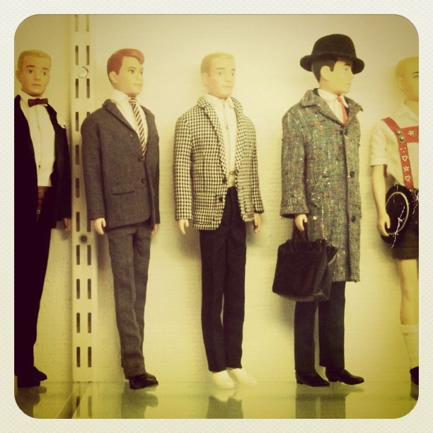 Vintage Ken dolls - Ya don't see that everyday