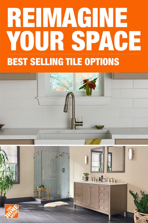 From Kitchen Backsplashes To New Bathroom Floors The Home Depot