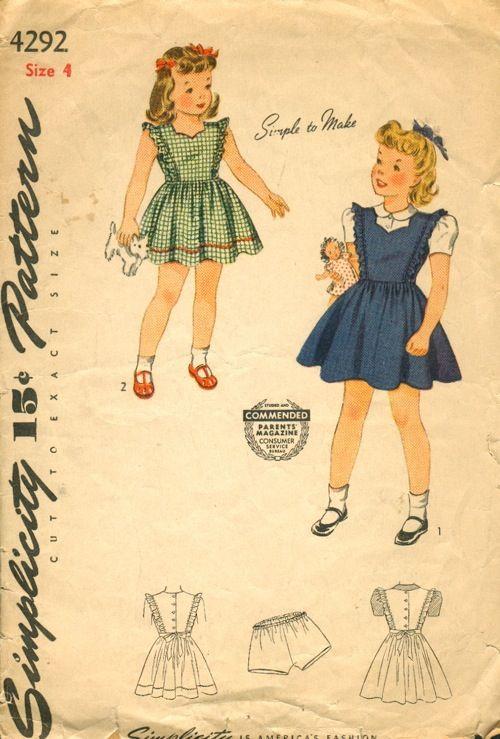 45 besten vintage childrens fashions Bilder auf Pinterest | Vintage ...