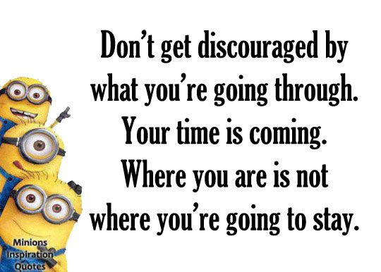Minions Inspirational Quotes